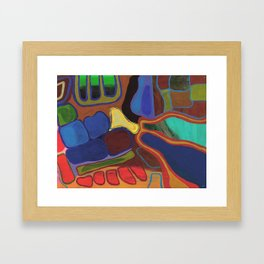 Brooklyn Summer #1 Framed Art Print