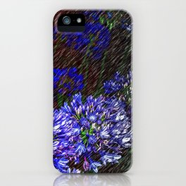 """Night Flowers #56"" iPhone Case"