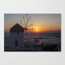 Mykonos Canvas Print