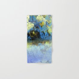 Bright Blue and Golden Pond Hand & Bath Towel
