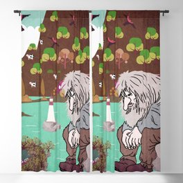 Norwegian giant  Troll 3 Blackout Curtain