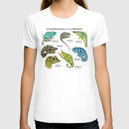 Chameleons of the World T-shirt