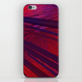 Fibers in Red iPhone Skin
