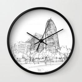 Bcn 15 Wall Clock