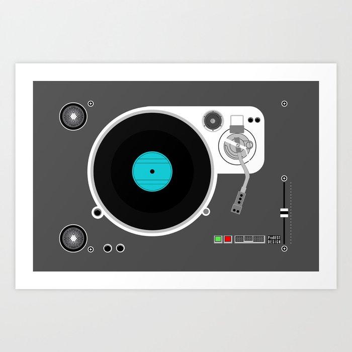 RECORD PLAYER Kunstdrucke