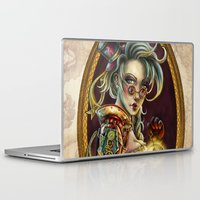 steampunk Laptop & iPad Skins featuring Steampunk by Mili Koey