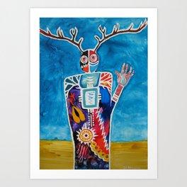 The Desert is Calling Me Art Print