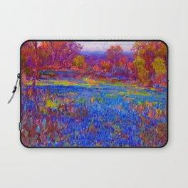 Julian Onderdonk Field of Blue Bonnets Laptop Sleeve
