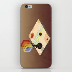 In the Rays of a Cloudless Sun iPhone & iPod Skin