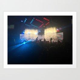 Blink 182 Concert Art Print