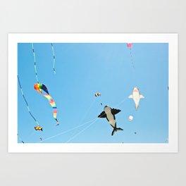 ocean shores (three) Art Print