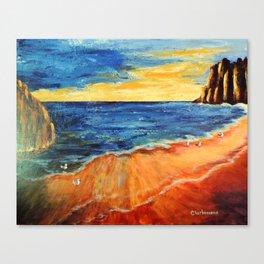 The reef | Le récif Canvas Print
