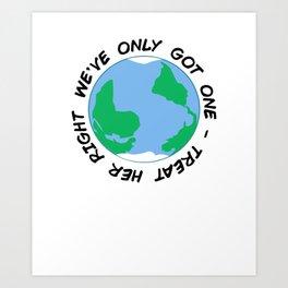 Earth Day 2019 Art Print