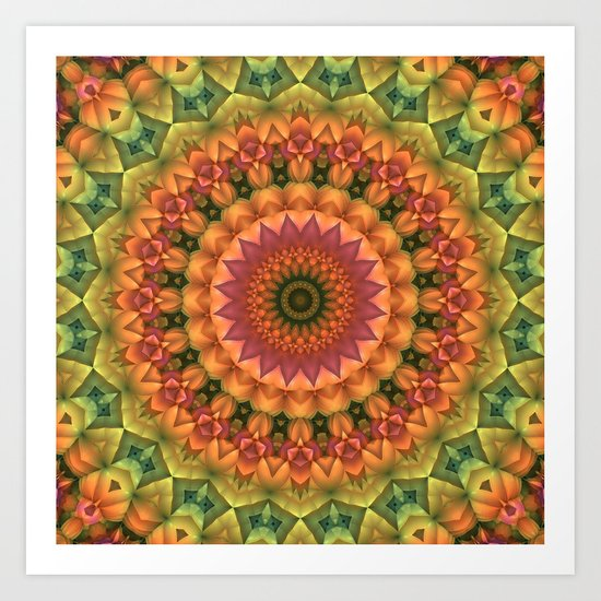 Another Day, Another Mandala Art Print