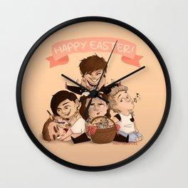 Happy OT5 Easter Wall Clock