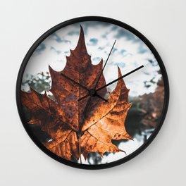 Big Leaf Wall Clock