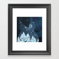 Night Owl Framed Art Print