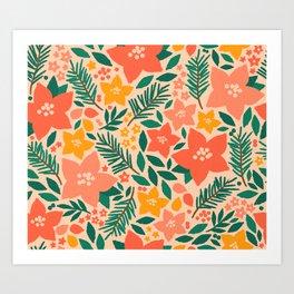 Forest Floral Art Print