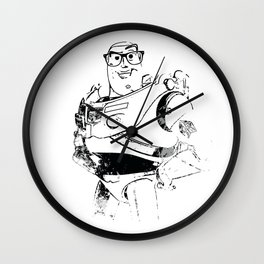 Wayfarer Buzz Wall Clock