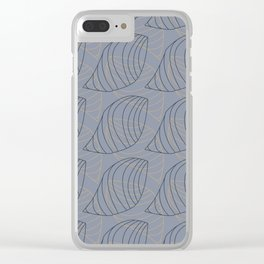 Tessellate Nature Clear iPhone Case