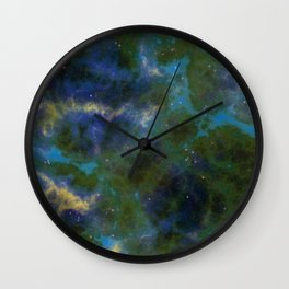 Above The Firmament Wall Clock