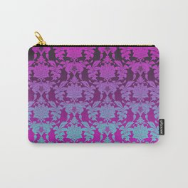 Ombre Damask Carry-All Pouch