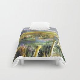 Approaching Rain - Achill Island - Ireland Comforters
