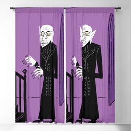 The Halloween Series - Nosferatu - Purple version Blackout Curtain
