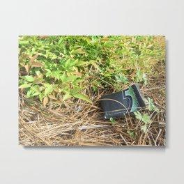 5 Gum Litter Metal Print