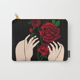 Heather's Flowers Carry-All Pouch