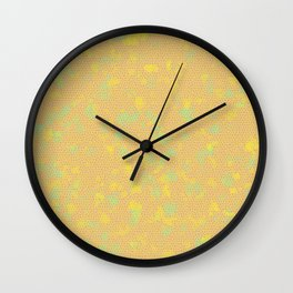 Pattern 001 Wall Clock