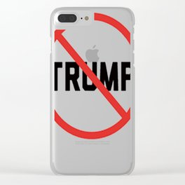 NO TRUMP Clear iPhone Case