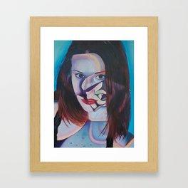 Echeveria Painted Lady Framed Art Print