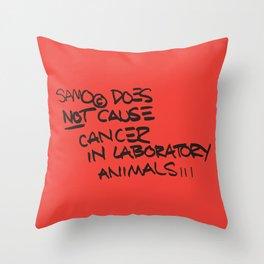 Pop Art 80s quote | Stree Art lovers Throw Pillow
