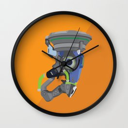 Lucio's Sonic Amplifier Postcard Wall Clock