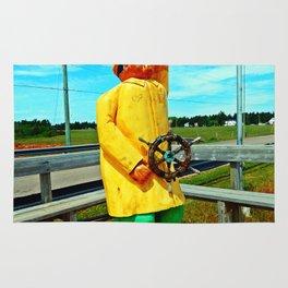 Fishermen's Mascot Rug