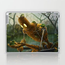 Rust,Rain, and Ribbits Laptop & iPad Skin
