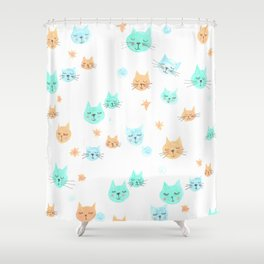 CATS. CATS. CATS! Shower Curtain