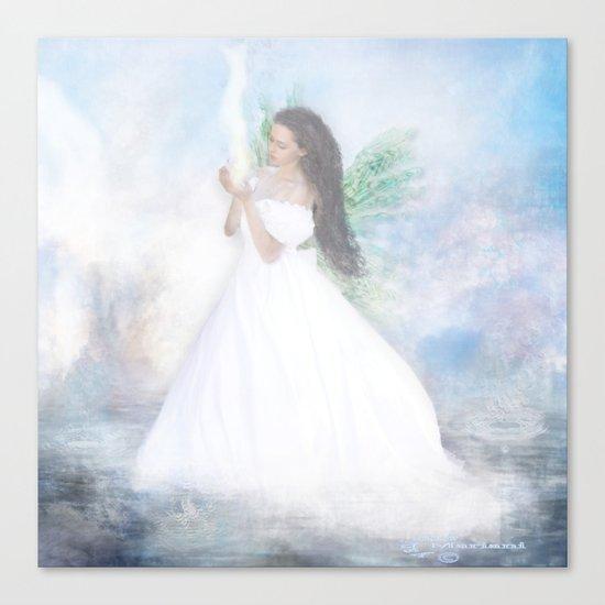 Heavenly Bride Canvas Print