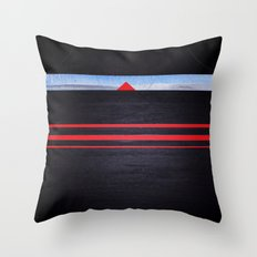 The Light of the Triangle Throw Pillow