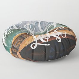 Live the Adventure - Lets Get Lost Floor Pillow