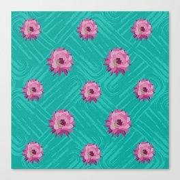 Floral pattern 2 Canvas Print