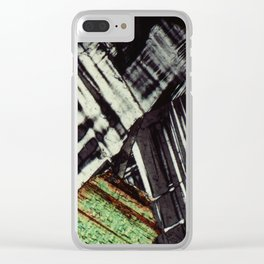 Feldspar and Biotite Clear iPhone Case