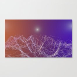 Celestial Valley Canvas Print