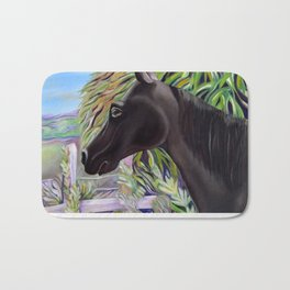 A Horse Named Dallas Bath Mat