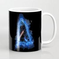 vader Mugs featuring Vader by Robin Curtiss