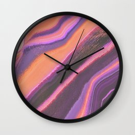 melted leaves Wall Clock