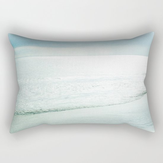Silent Sea Rectangular Pillow