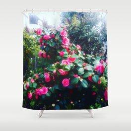 Camelias flowers. Shower Curtain