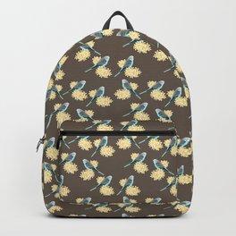 Blue Budgerigar Backpack